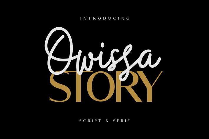 Cover Image For Owissa Story - Font Duo