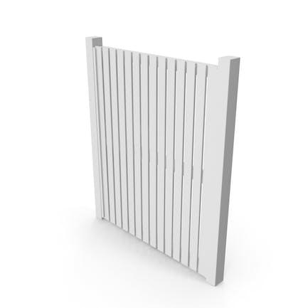 Garden Door White