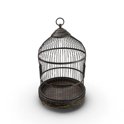 Jaula vieja para pájaros
