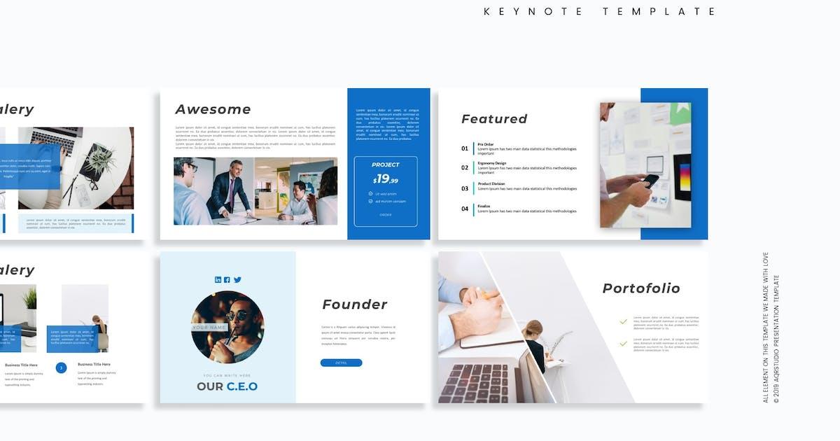 Download Cortex - Keynote Template by aqrstudio