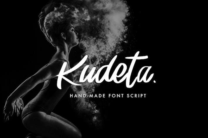Thumbnail for Kudeta - Handmade Font Script