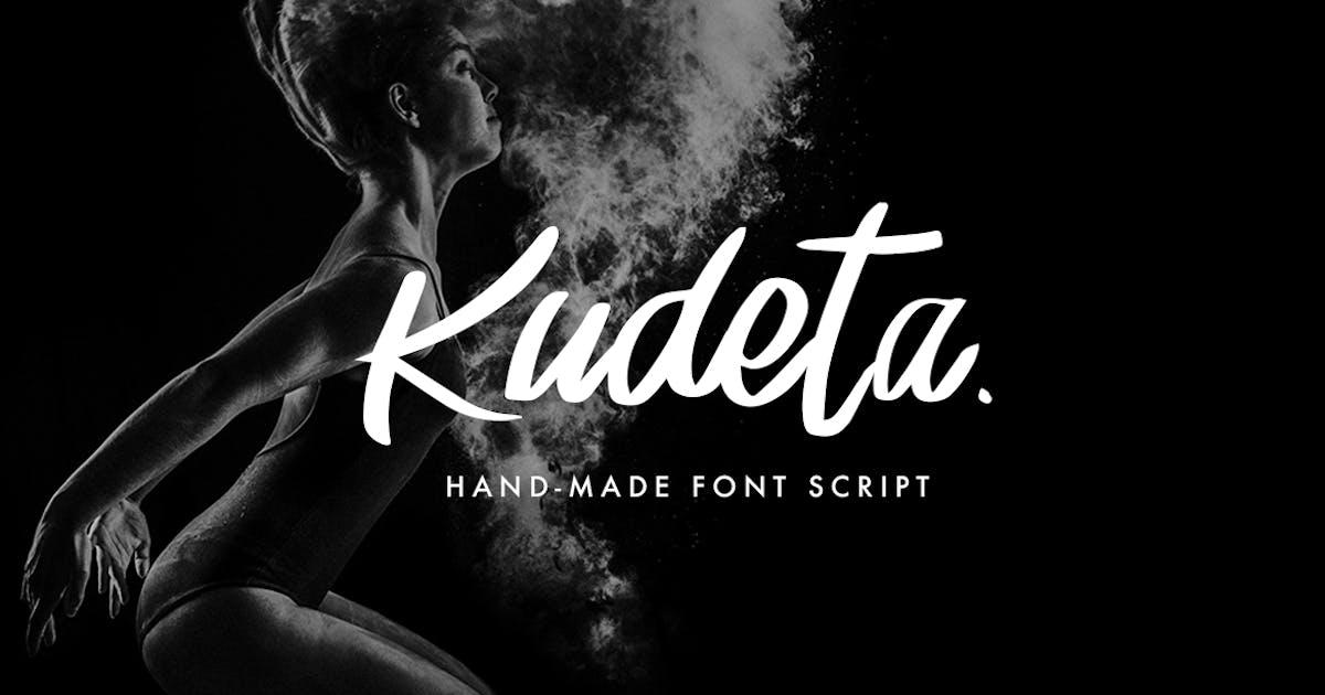 Download Kudeta - Handmade Font Script by micromove