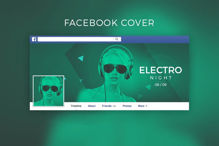 Thumbnail for Dj / Music Facebook Cover