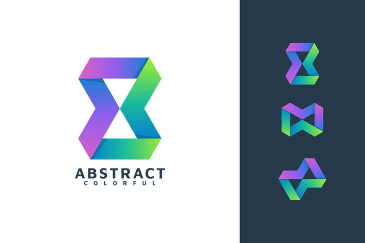 Thumbnail for ABSTRACT COLORFUL LOGO TEMPLATE