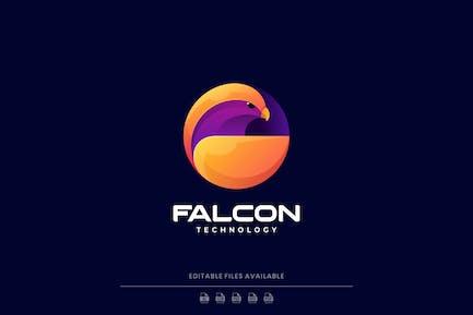 Falcon Gradient Colorful Logo