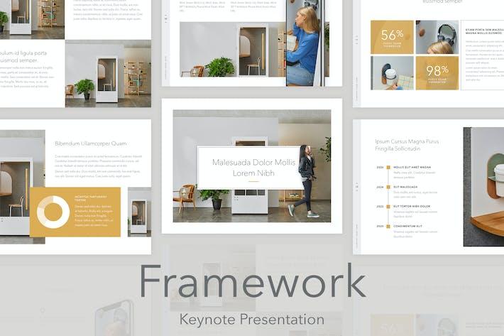 Thumbnail for Framework Keynote Template