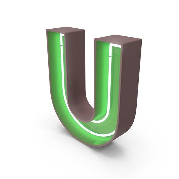 Thumbnail for Neon Letter U