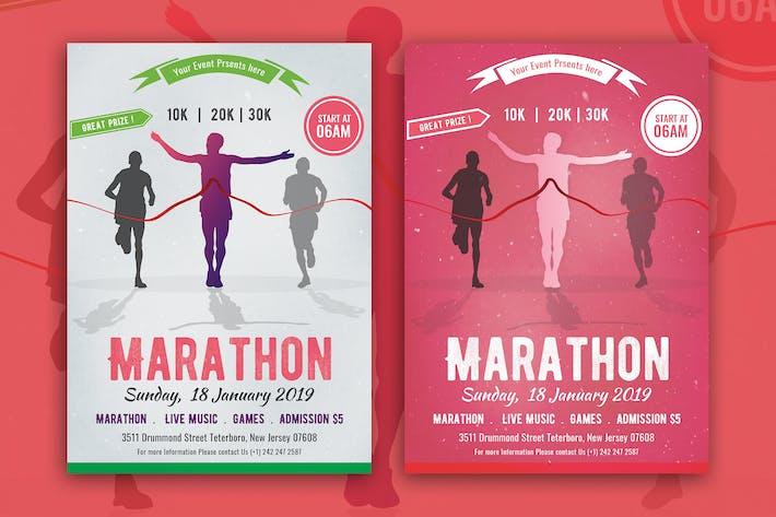 Thumbnail for Marathon Event Flyer 04
