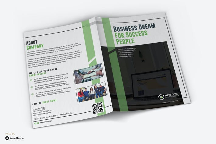 Thumbnail for Success - Corporate Bifold Brochure RY