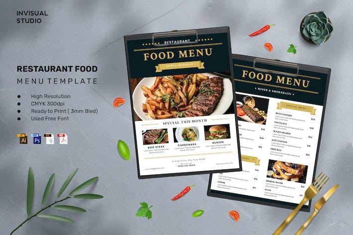 Restaurant - Food Menu