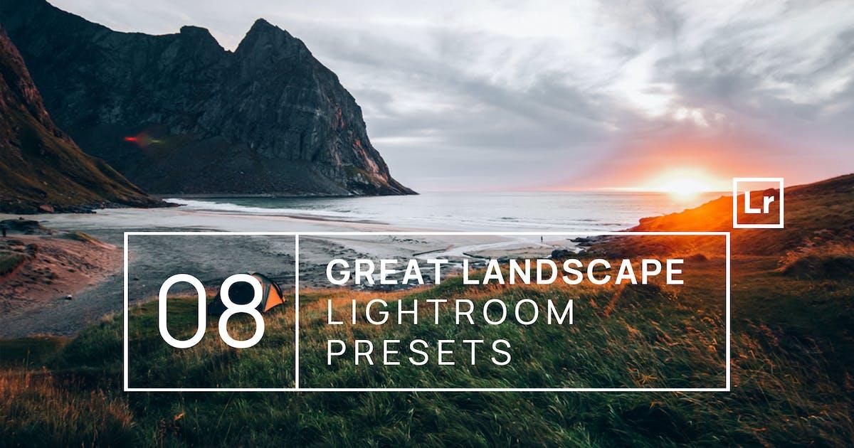 Download 8 Great Landscape Lightroom Presets + Mobile by zvolia