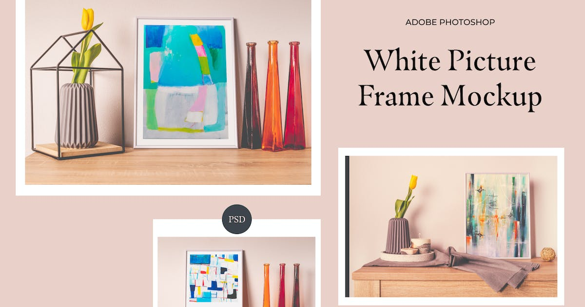 Download White Frame Mockup by Digital_infusion