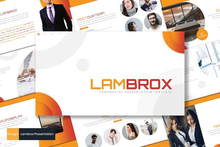 Thumbnail for Lambrox - Business Google Slides Template