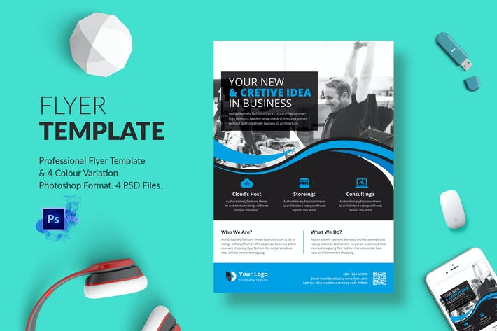Thumbnail for Business Flyer Template 09