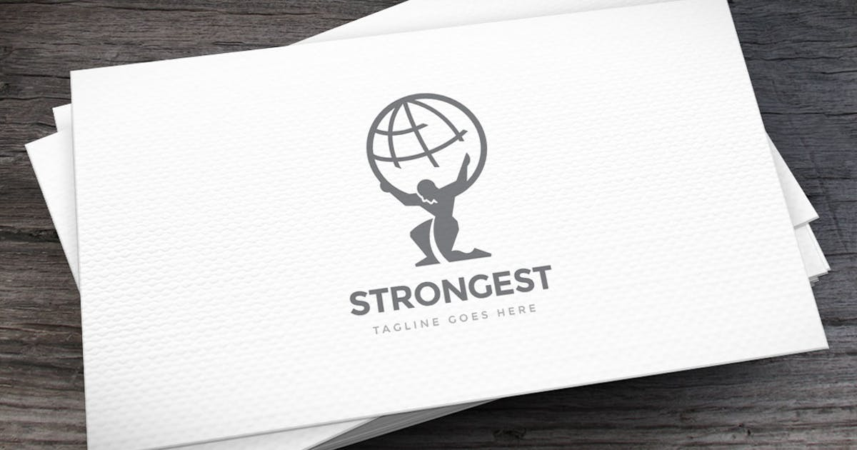 Download Strongest Logo Template by empativo
