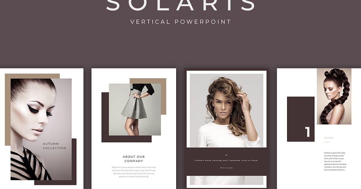 Download Solaris Vertical PowerPoint Presentation by SlideStation
