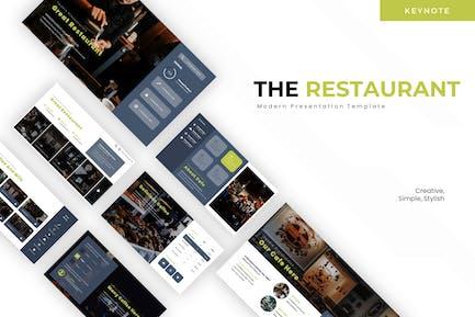 Ресторан - Шаблон Keynote