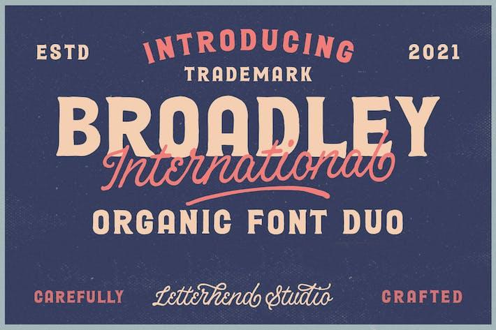 Broadley - Vintage Font Duo