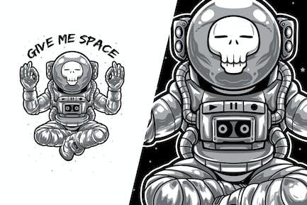 Dame espacio - Astronauta