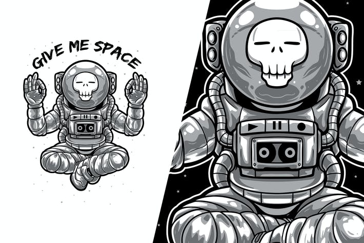 Thumbnail for Give Me Space - Astronaut