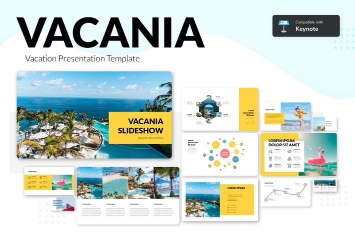 Thumbnail for VACANIA - Vacation Presentation Template