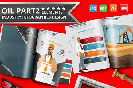 Gas Infographics Design Part 2