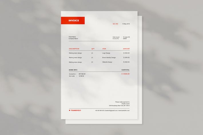 Cover Image For Invoice