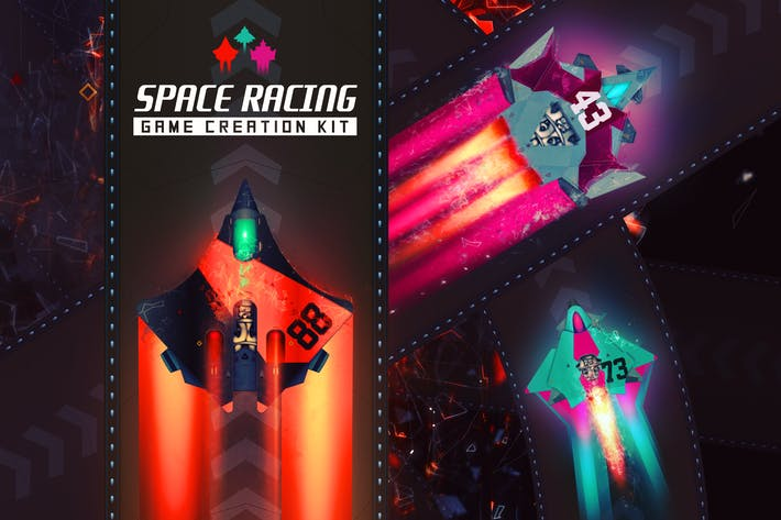 Thumbnail for Space Racing Game Creation Kit