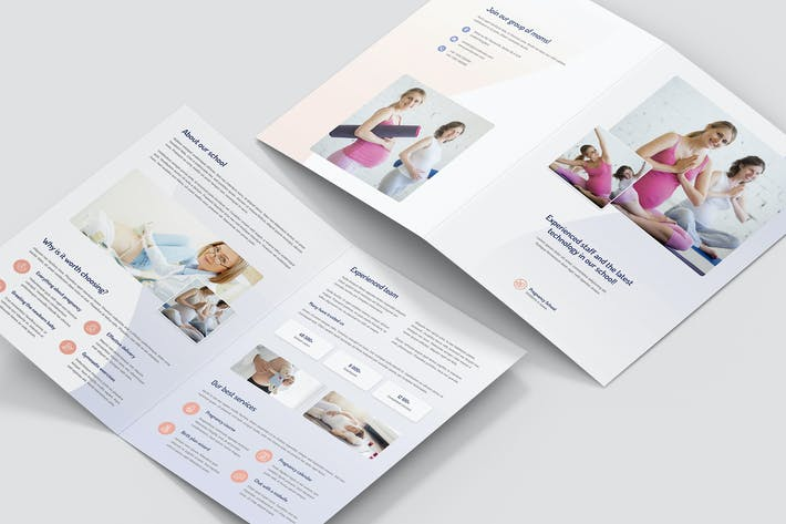 Thumbnail for Brochure – Pregnancy School Bi-Fold