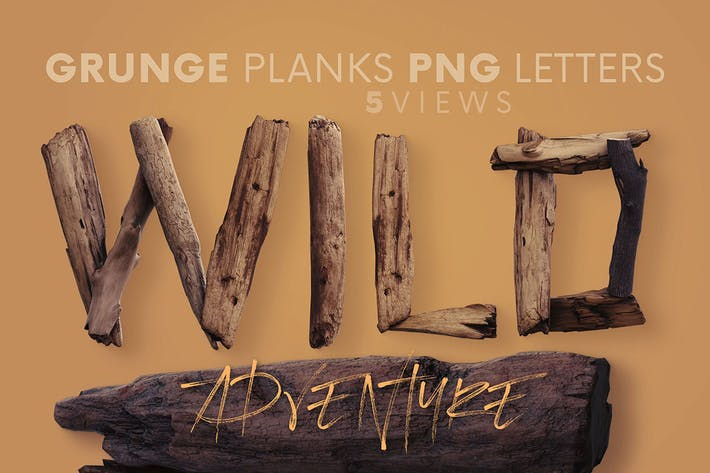 Thumbnail for Wild Adventure - 3D Lettering