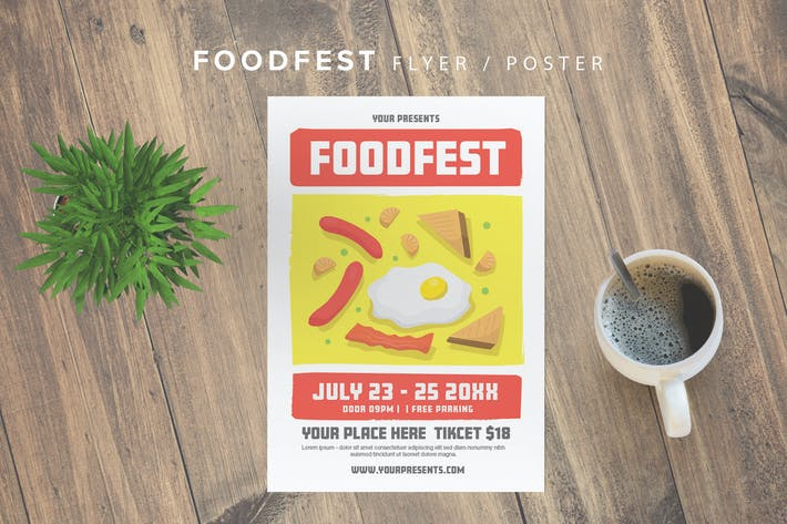 Thumbnail for Foodfest Flyer