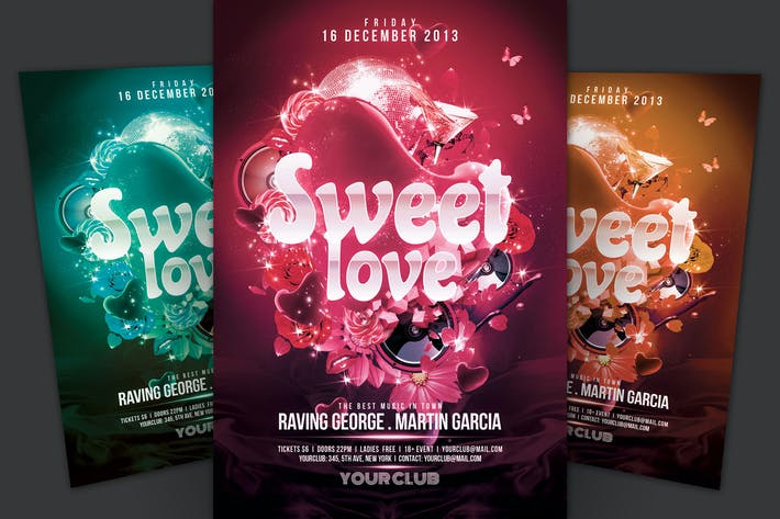 Thumbnail for Sweet Love Flyer