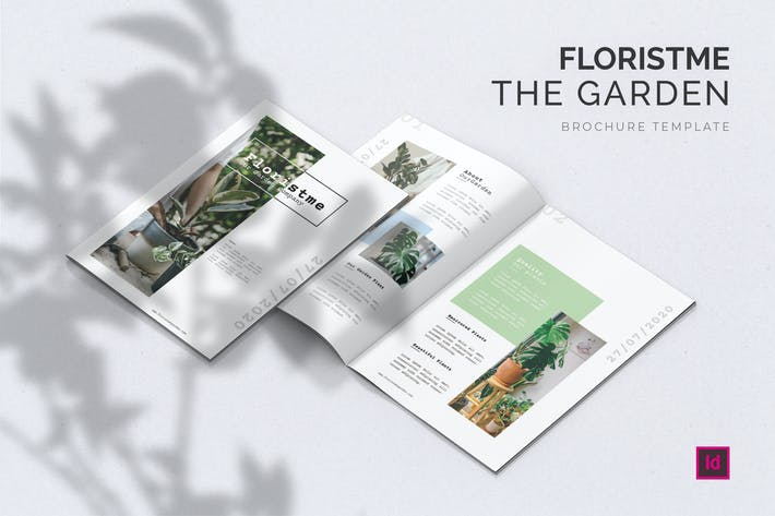 Thumbnail for Floristme Garden - Brochure Template