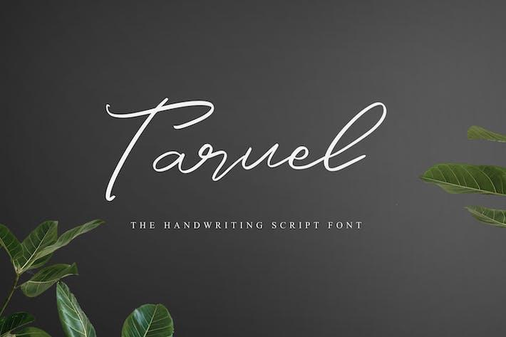 Thumbnail for Taruel - The Handwriting Script Font