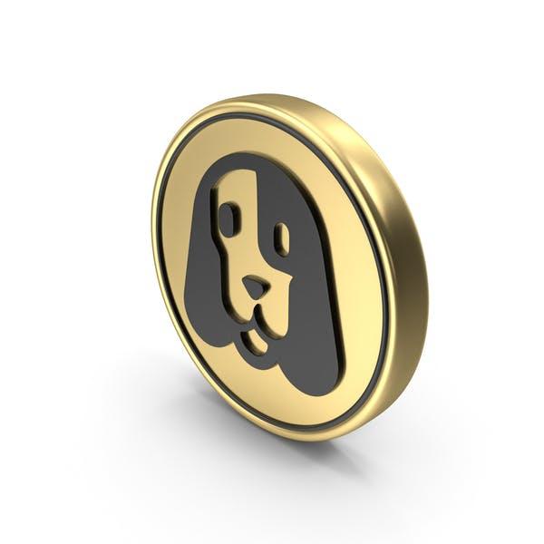Собака Уход Pet Монета Логотип