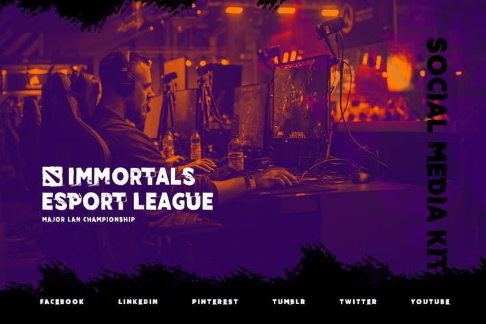 Thumbnail for eSport Online Tournament – Gaming Social Media Kit