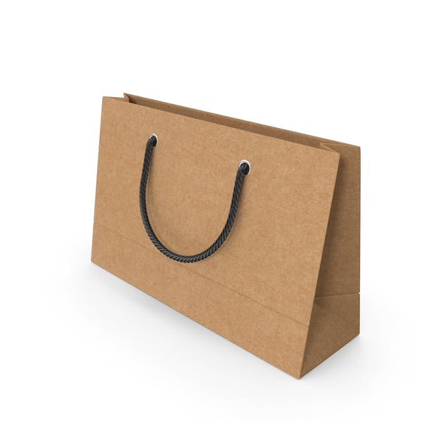 Thumbnail for Craft Packaging Bag with Black Handles