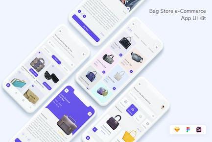 Bag Store e-Commerce App UI Kit