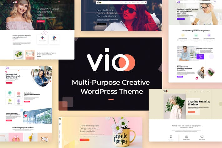 Thumbnail for Vio - Multi-purpose Creative WordPress Tema