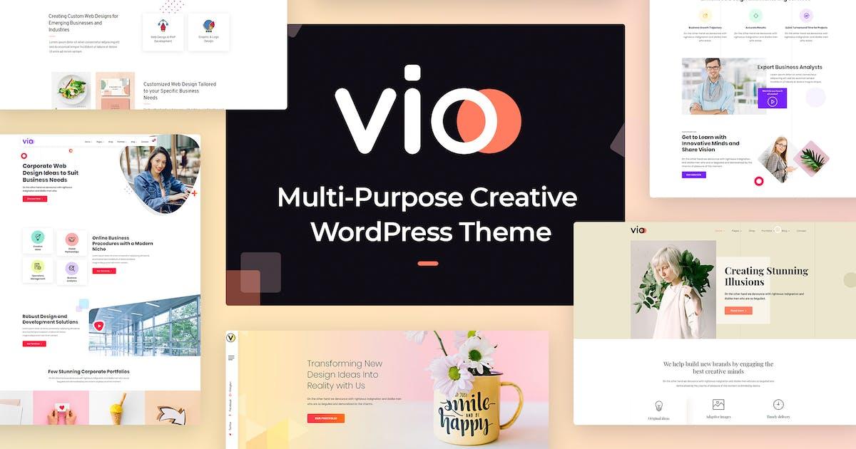 Download Vio - Multi-purpose Creative WordPress Theme by radiantthemes