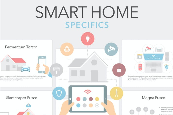 Thumbnail for Smart Home Keynote Template