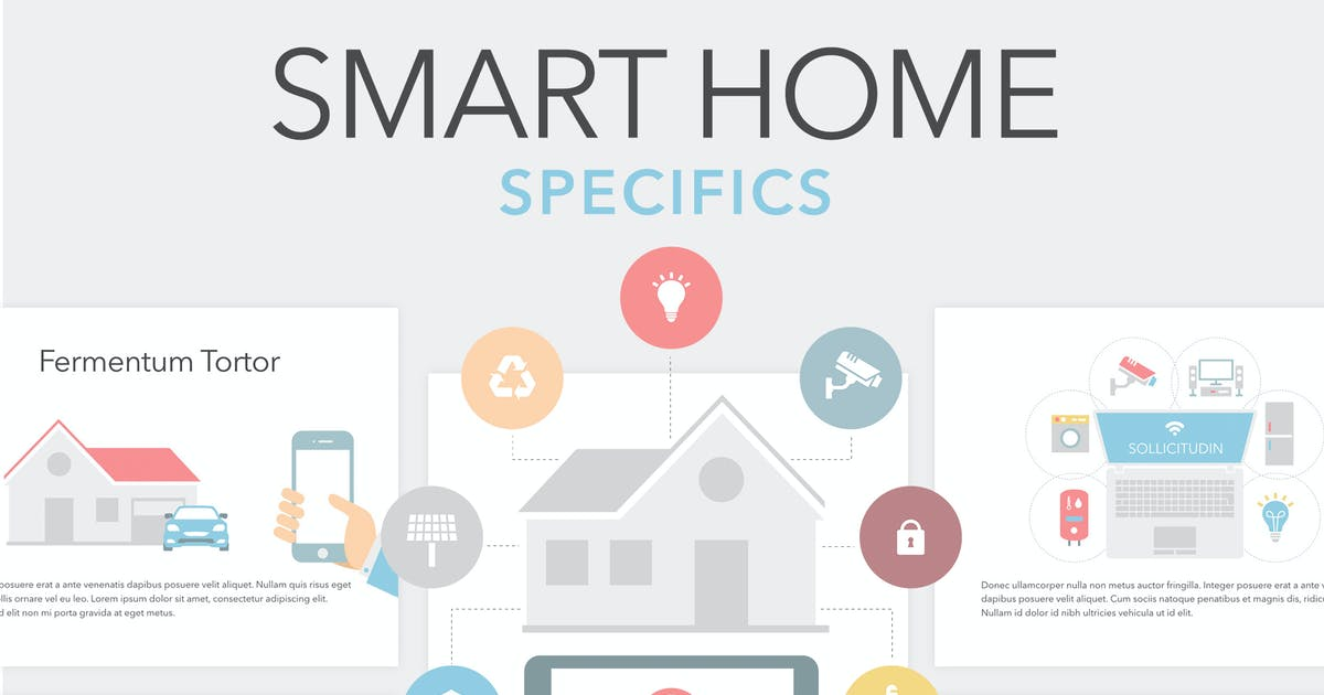 Download Smart Home Keynote Template by Unknow