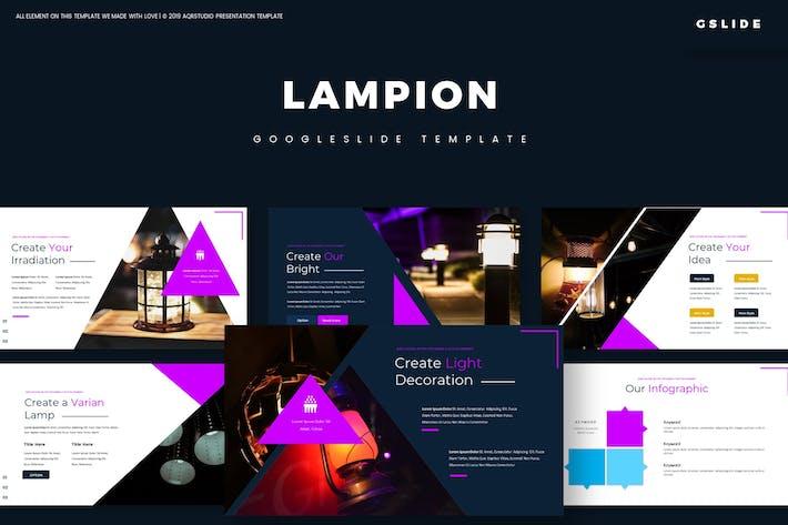 Thumbnail for Lampion - Google Slides Template