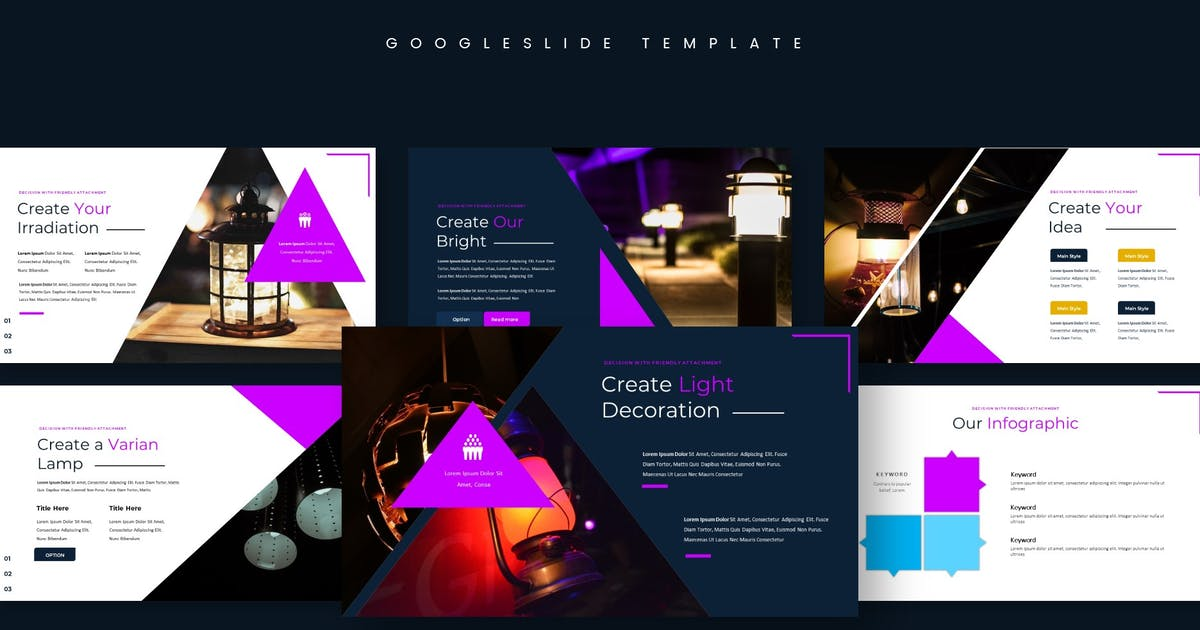 Download Lampion - Google Slides Template by aqrstudio