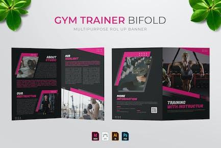 Gym Trainer   Bifold Brochure