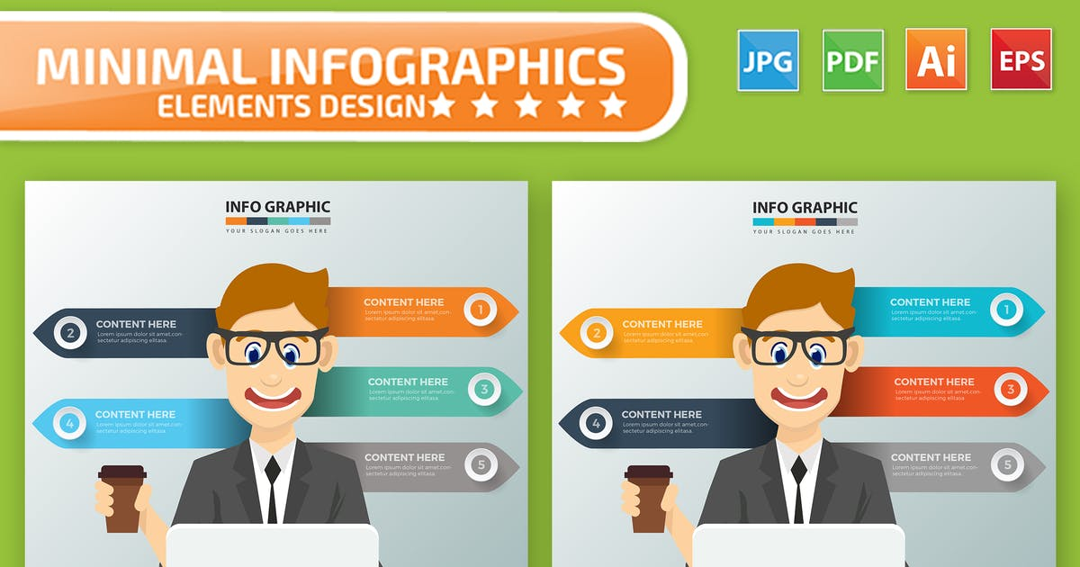 Download Businessman Infographics Design by mamanamsai