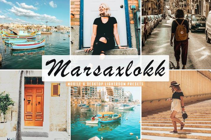 Thumbnail for Marsaxlokk Mobile & Desktop Lightroom Presets