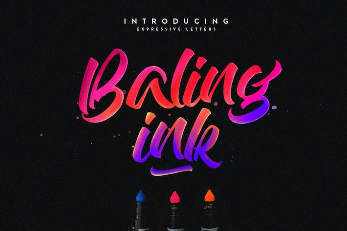 Cover Image For Baling Ink