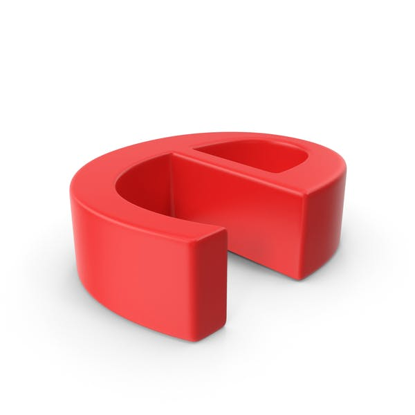 Red Small Letter E
