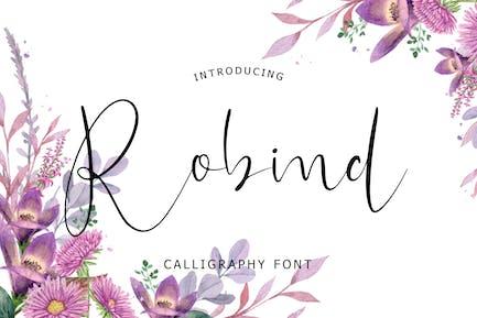 Robind Calligraphy Police